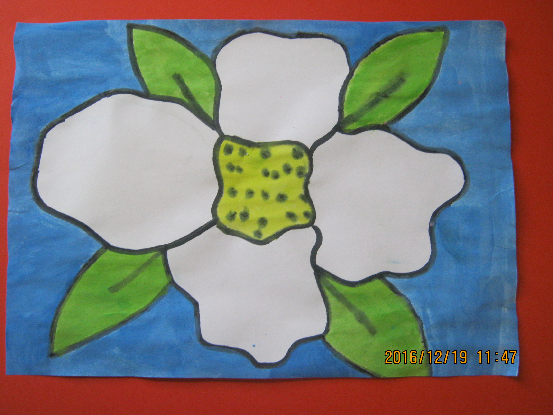 Spring flowers in the style of Georgia O\'Keeffe – Holmpatrick ...