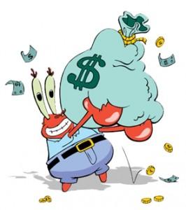 Mr__Krabs'_Love_of_Money