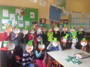 Saint Patrick's Day Masks