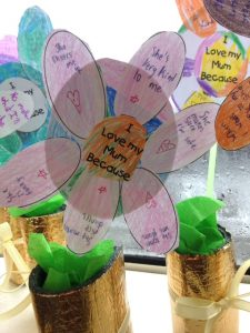 Mother's Day Flowers – 3rd & 4th Class