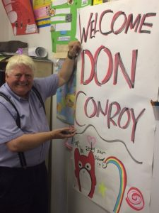 A visit from Don Conroy