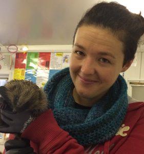 Hedgehog Rescue visit